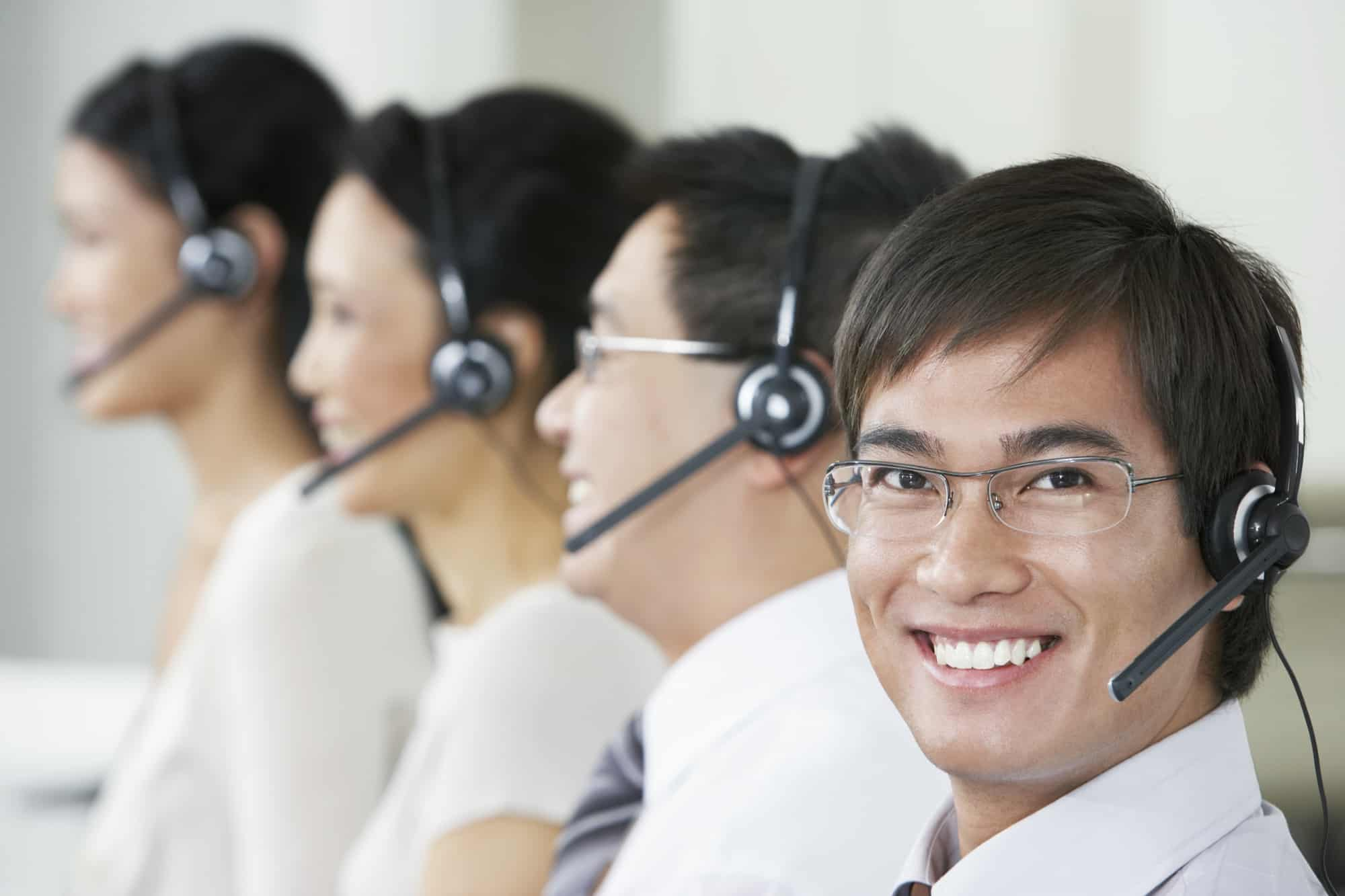 Call Center Workers Image
